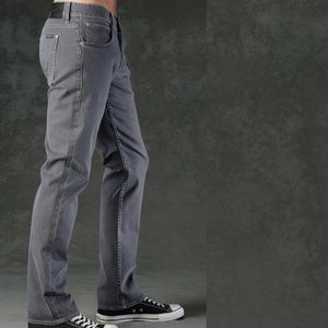 Hudson Byron Five Pocket Jeans Grey 34X31